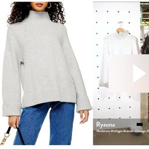Size M topshop supersoft sweater gently used